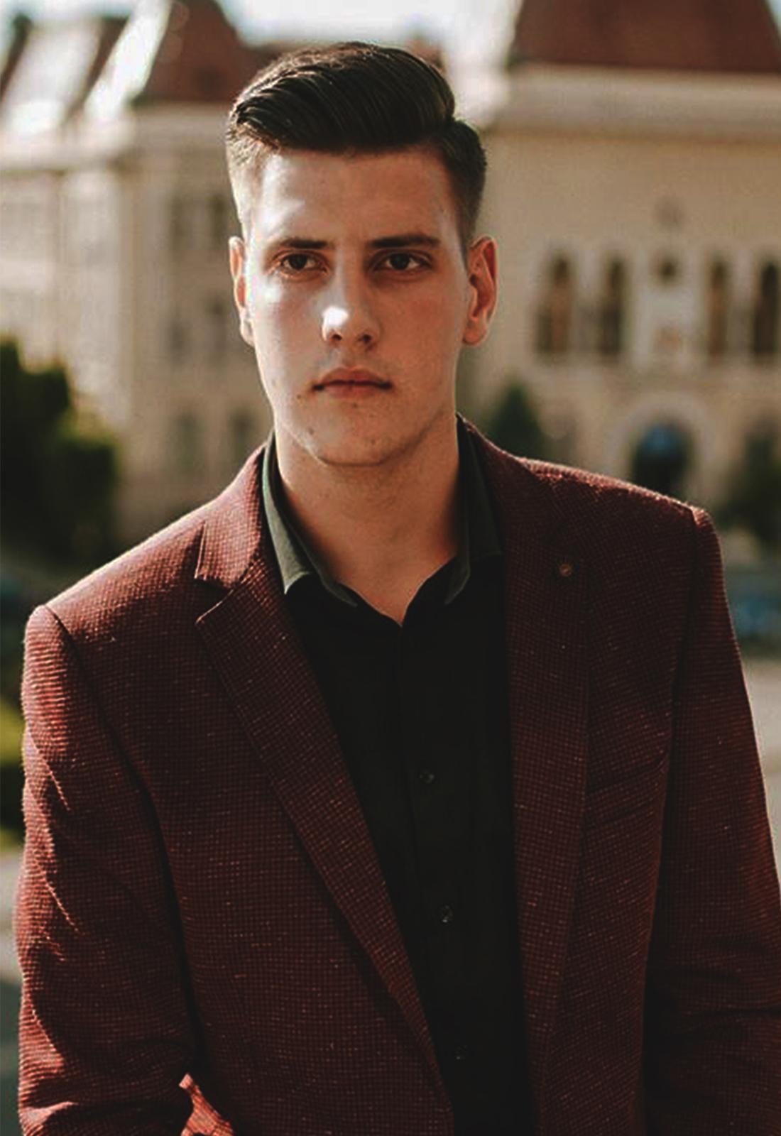 Vicepreședinte – Alexandru HANCU (student anul II – Drept)